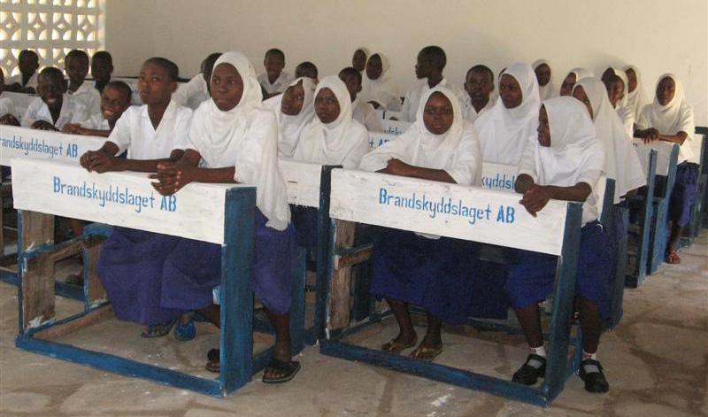 Rapport från Mvendeni Primary School i Kenya