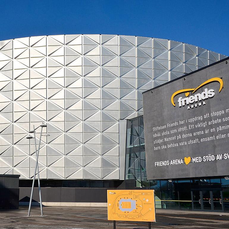 Friends Arena, Solna