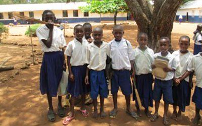 Brandskyddslaget fortsätter sitt engagemang för Mvindeni Primary School i Kenya