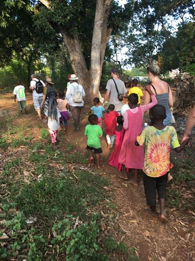 På besök i Ukunda 2