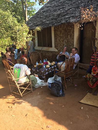På besök i Ukunda