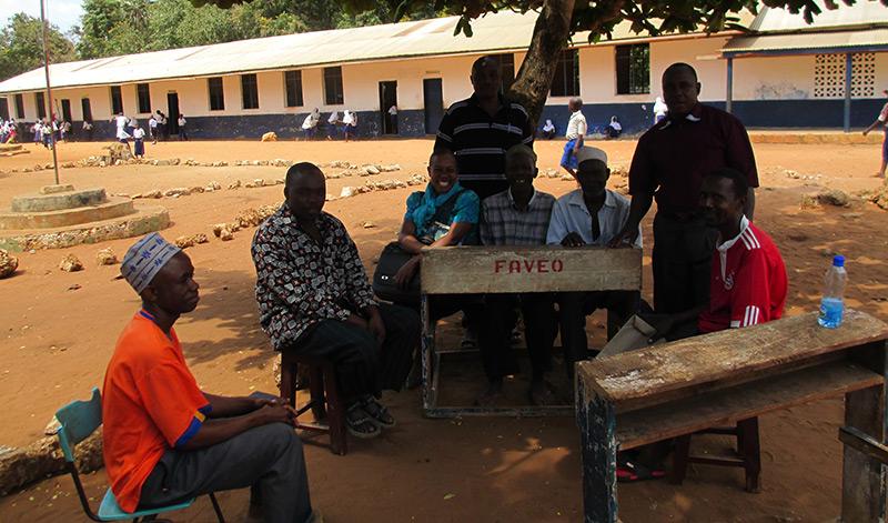 Brandskyddslaget finansierar skola i Kenya