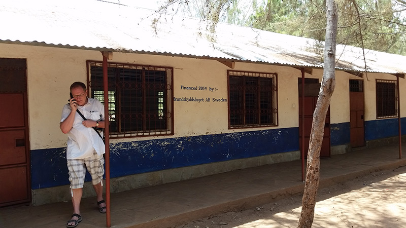 Mvindeni Primary School i Kenya