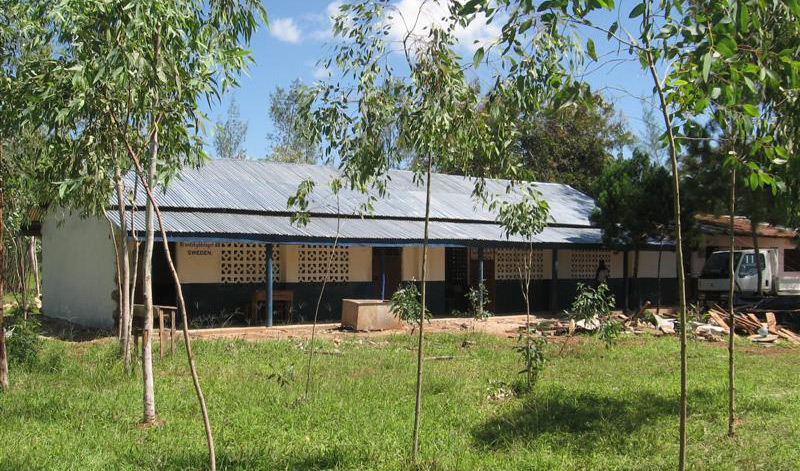 Brandskyddslagets skola i Kenya