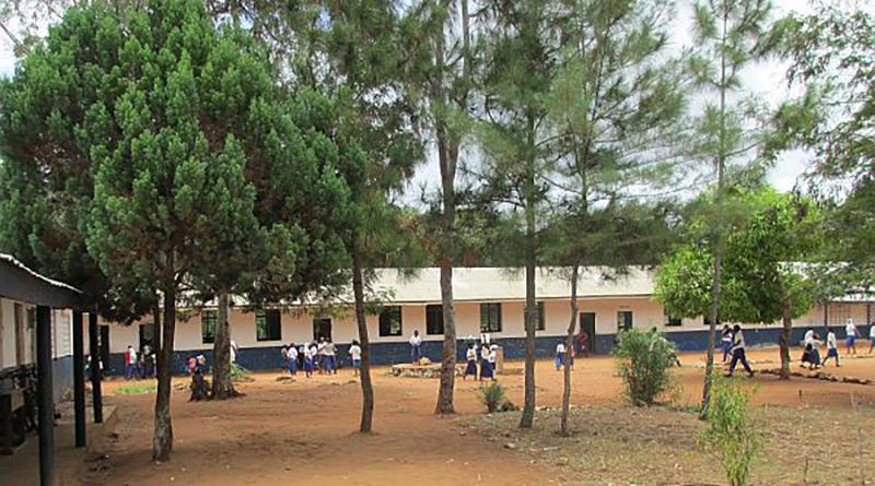 Skolgård Mvindeni Primary School Kenya