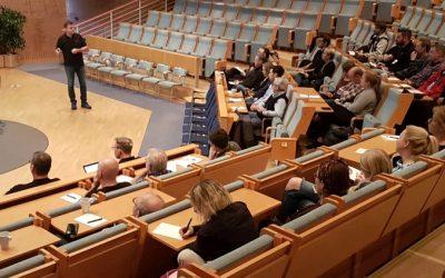 Uppskattade föreläsningar i Borlänge