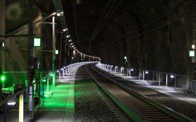 Utrymningsdimensionering vid upphöjda gångbanor i spårtunnlar