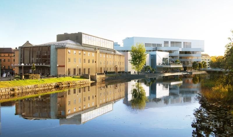 Kulturkvarteret i Örebro växer fram