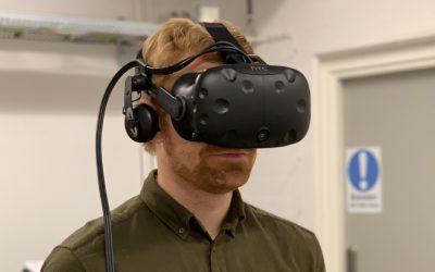 Nytt forskningsprojekt inom Virtual Reality