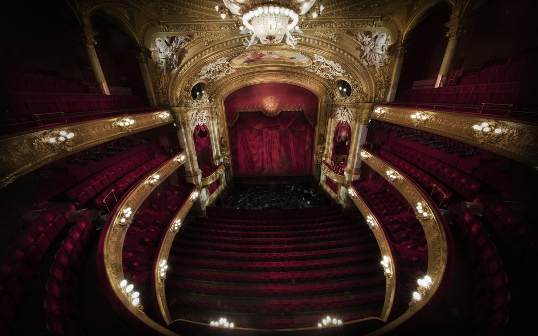 Brand på Operan 2019-05-14