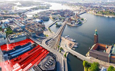 Spårområde vid Stockholms Central överdäckas