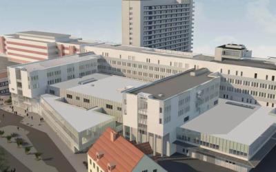 Omfattande utbyggnad av Mälarsjukhuset
